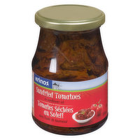 Krinos Sun Dried Tomatoes can be used for salads, pasta, risottos, and casseroles.