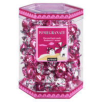 Tiny and powerful, these hard Pomegranate candies from Greece pack a punch! Individually wrapped, and naturally flavoured, these delightful candies are a great way to refresh your palate after a meal.