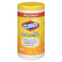 Clorox - Disenfecting Wipes Lemon Scent