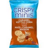 Quaker Quaker - Crispy Minis - Caramel Kettle Corn, 100 Gram