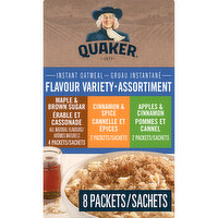 Quaker - Instant Oatmeal - 3 Flavour Variety