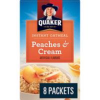 Quaker - Instant Oatmeal - Peaches & Cream