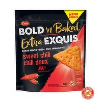 Bursting with intense flavour in every bite. Try these boldly flavourful crackers that are baked (never fried), made with real ingredients & have no artificial colours or flavours.