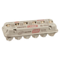 Golden Valley Golden Valley - Brown Eggs Large, 12 Each