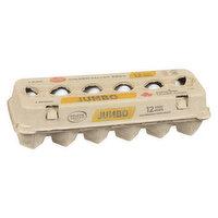 Golden Valley - Jumbo Eggs White, 12 Each