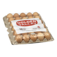 Golden Valley - Large Brown Eggs, 30 Each