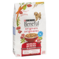 With Wholesome Grains & Real Beef, Accented with Vitamin Rich Vegetables. Abundant Nutrition for your Dog's Health and Happiness!