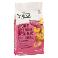 Ingredients: Salmon, brewers rice, barley, chicken meal, oat meal, beef fat preserved with mixed-tocopherols, canola meal, dried egg product, pea protein, dried yeast, pumpkin, natural liver flavour.