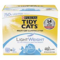 Purina - Tidy Cats Cat Litter, Glade Clear Springs Lightweight, 5.44 Kilogram