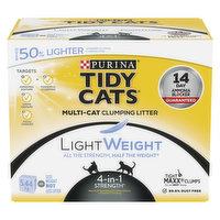 Purina - Tidy Cats Cat Litter, 4-in-1 Strength Lightweight, 5.44 Kilogram