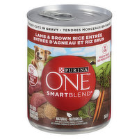 Purina One - SmartBlend Wet Dog Food,  Classic Ground Chicken & Brown Rice Entre