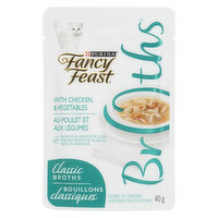 Fancy Feast Fancy Feast - Classic Broths Chicken & Vegetables, Wet Cat Food Complement, 40 Gram