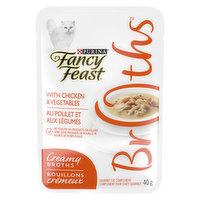 Fancy Feast Fancy Feast - Creamy Broths Chicken & Vegetables, Wet Cat Food Complement, 40 Gram