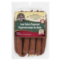 Naturally Smoked. Lean, Gluten Free, Lactose Free, No MSG Added. Turkey Made with Natural Ingredients.