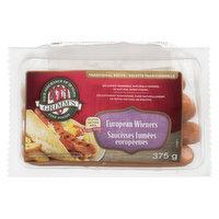 Grimm's - European Wieners, 375 Gram