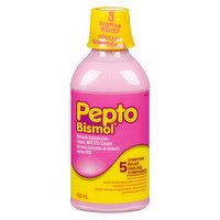 Pepto Bismol Pepto Bismol - 5 Symptoms Relief Liquid, 480 Millilitre