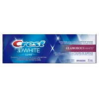 Crest Crest - 3D White Luxe Glamorous White Toothpaste, 75 Millilitre