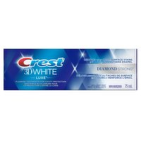 Crest Crest - 3D White Luxe Diamond Strong Toothpaste, 75 Millilitre