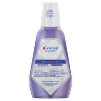 Crest - 3D White Brilliance Mouthwash - Clean Mint, 1 Litre