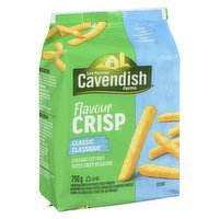 With the signature FlavourCrisp crunch, these straight cut fries are sure to make your mouth water. They also make a superb addition to your family's favourite recipes. 0 Trans fat.