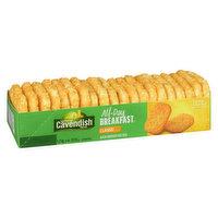 20 Frozen Potato Patties. 0 Trans Fat.