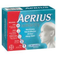 Aerius - Allergy 24 Hour - Non Drowsy, 30 Each