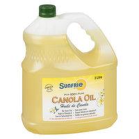 Sunfrie - Sunfrie Pure Canola Oil, 3 Litre