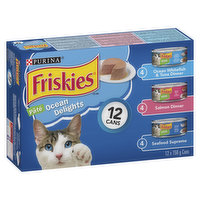 Friskies - Cat Food - Ocean Delights, 12 Each