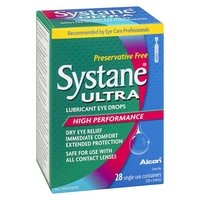 Systane - Ultra Lubricant Eye Drops High Performance, 28 Each