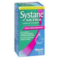 Systane - Ultra Lubricant Eye Drops High Performance, 10 Millilitre