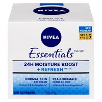 Nivea Nivea - Essentials Moisture Boost +Refresh Day Cream, 50 Millilitre
