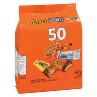 Hershey - Assorted Chocolate Candy 50 Count, 567 Gram
