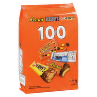 Hershey - Assorted Chocolate Candy 100 Count, 1.15 Kilogram