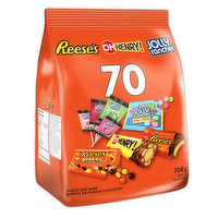 Hershey - Assorted Chocolate Candy 70 Count, 708 Gram