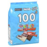 Hershey - Peanut Free Assorted Chocolate Candy 100 Count, 1.1 Kilogram