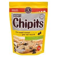 Hershey's - Chipits Pure Semi Sweet Chocolate Chips, 1 Kilogram