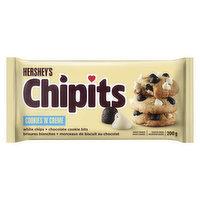 Hershey's - Chipits Cookies 'N Cream, 200 Gram