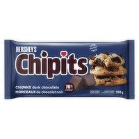 Hershey - Chipits Dark Chocolate Chunk, 200 Gram