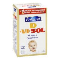 D-Vi-Sol - Infant Supplement Drops, 50 Millilitre