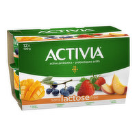 Activia - Probiotic Yogurt Lactose Free - Assorted