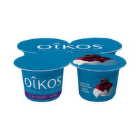 Oikos greek yogurt has all natural ingredients with vitamin D and 12g of protein. A delicious and nutritious snack that helps make you unstoppable. 4X100g and only 2% milk fat.
