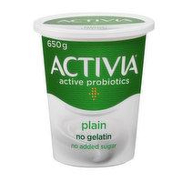 Activia Activia - Probiotic Yogurt - Plain, 650 Gram