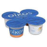 Oikos - Oikos 30% Less Sugar Peach Yogurt, 4 Each