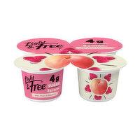 Danone - Greek Style Yogurt - Light & Free Peach Raspberry, 4 Each