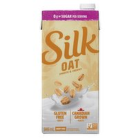 Step up your breakfast with a touch of creaminess to your coffee, pour on your cereal or drink it by the glass. 0g of sugar per serving of oat beverage, that delivers on taste and creamy texture with Canadian grown free oats. 50 calories per serving, sour