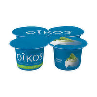 All the smoothness of a high protein Greek yogurt, with 2% milk fat. A dream snack for those wanting to savour an authentic Greek flavour. 4x100g Serving Size Cups.