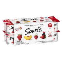 Yoplait - Source Yogurt Strawberry/Peach/Blueberry/Raspberry, 16 Each