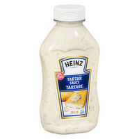 Convenient squeeze bottle of tartar sauceClassic tartar sauce from America's trusted brand in condiments, seafood's just not the same without it. Gluten free, certified Kosher