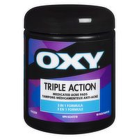 Oxy Oxy - Triple Action Medicated Acne Pads, 90 Each