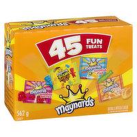 Maynards - Fun Treats 45 Assorted, 45 Each